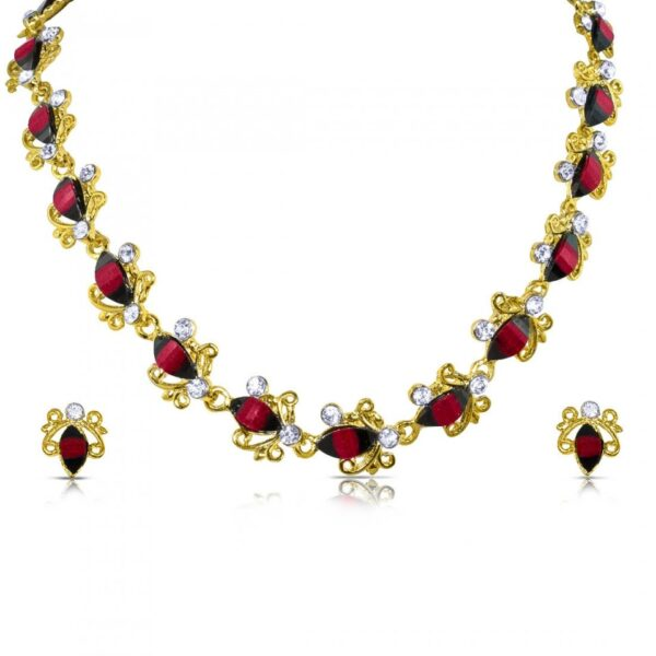 Gold Plated 18K African Beads Resin Jewelry Sets