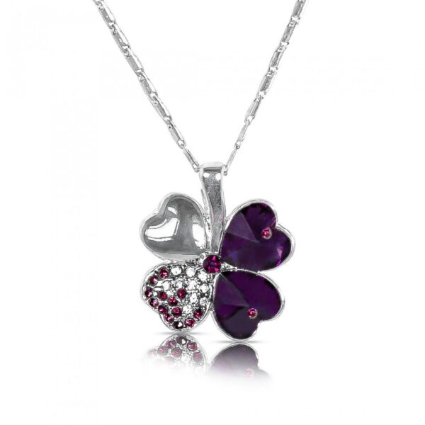 AD with Stone studded Butterfly pendant