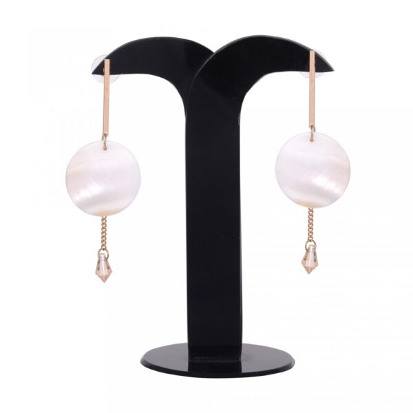 Shells with Golden String Earring